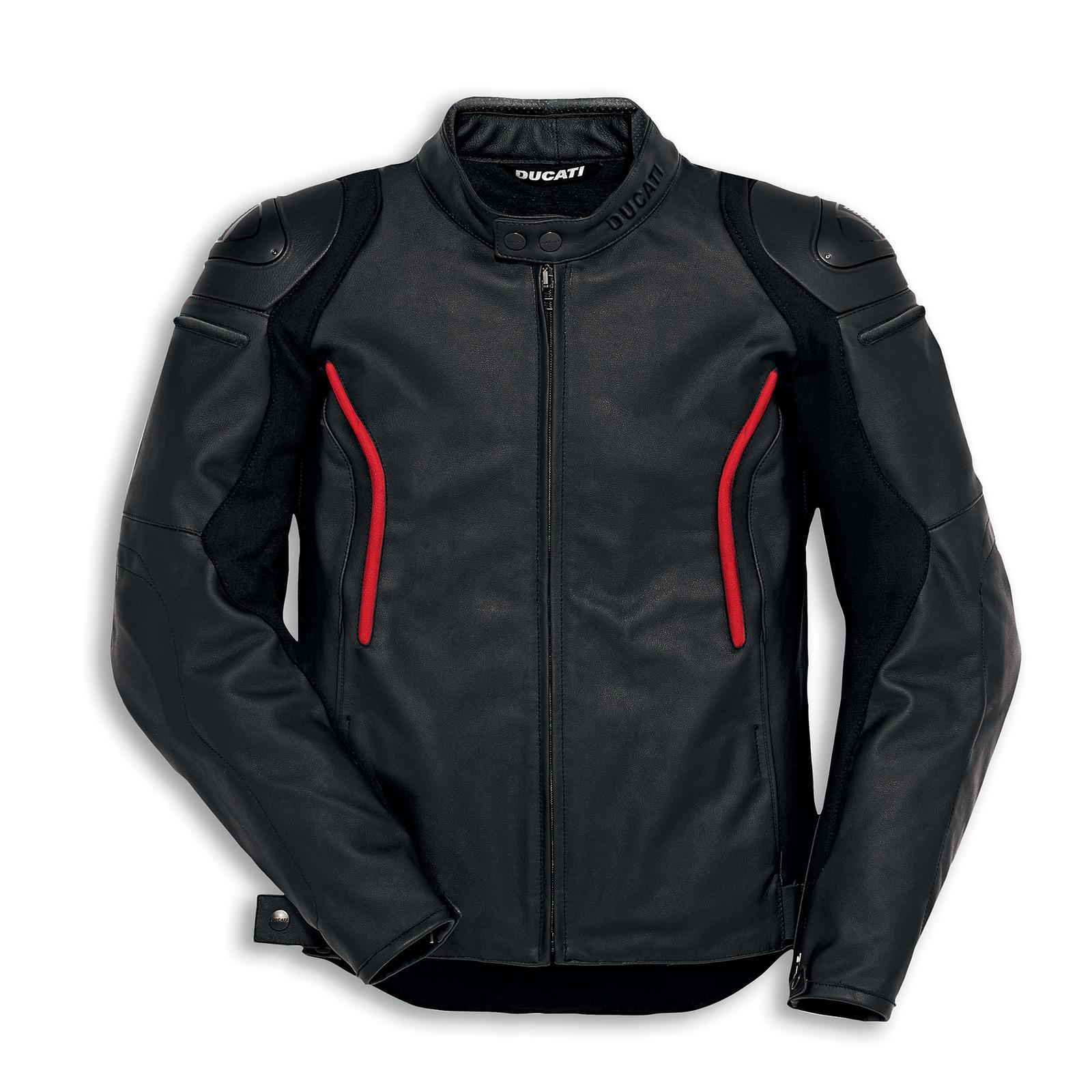 0ff0c4e43 Ducati Genuine Stealth C2 Standard Leather Jacket | Ducati | Ducati Apparel  & Gifts | Ducati Jackets