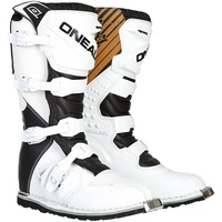 O'Neal Rider Black/White MX Boots