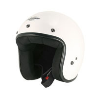 Custom Fg Open Face Helmet White/