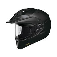Shoei Hornet ADV Solid Black Road Helmet