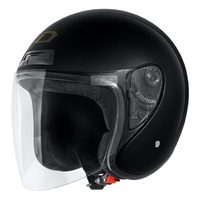 Dririder Manx Black Open Face Road Helmet