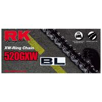 RK CHAIN 520GXW - Black / Gold<br>120 Link