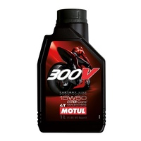 Motul 1L 300V Road Factory Line 15W50 4 Stroke Oil