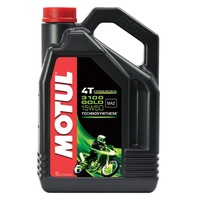 Motul 4L 3100 Gold Synthetic 15W40 4 Stroke Oil
