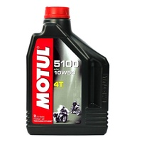 Motul 2L 5100 Synthetic 10W50 4 Stroke Oil