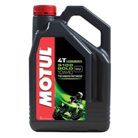 Motul 4L 3100 Gold Synthetic 10W40 4 Stroke Oil