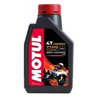 Motul 1L 7100 Synthetic 10W40 4 Stroke Oil