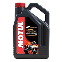 Motul 4L 7100 Synthetic 10W40 4 Stroke Oil