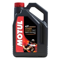 Motul 4L 7100 Synthetic 20W50 4 Stroke Oil