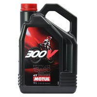 Motul 4L 300V Off Road Factory Line 15W60 4 Stroke Oil