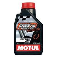 Motul 1L Factory Line Very Light (2.5W) Fork Oil