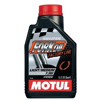 Motul 1L Factory Line Light/Medium (7.5W) Fork Oil