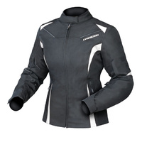 Dririder Ladies Jewel 2 Black/White Road Jacket