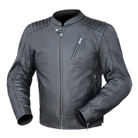 Dririder Ace Black Leather Jacket
