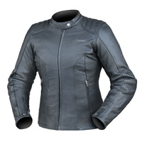 Dririder Ladies Paris Leather Black Road Jacket