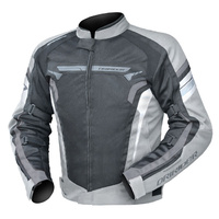 Dririder Air-Ride 4 Silver/Black Road Jacket