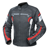 Dririder Ladies Air-Ride 4 Black/Red Road Jacket