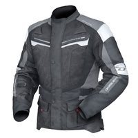 Dririder Apex 4 Airflow Black/White/Grey Road Jacket
