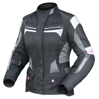 Dririder Ladies Apex 4 Airflow Black/White/Grey Road Jacket