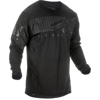 Fly Racing Kinetic Shield Black MX Jersey