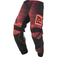 Fly Racing Kinetic Noiz Neon Red MX Pants