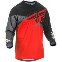 Fly Racing F-16 Red/Black MX Jersey