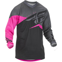 Fly Racing F-16 Neon Pink MX Jersey