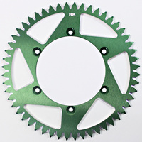 RK ALLOY RACING SPROCKET - 52T 520P - GREEN