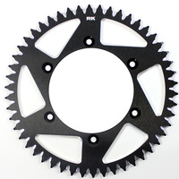 RK ALLOY RACING SPROCKET - 49T 520P - BLACK