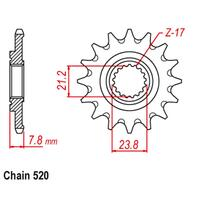FRONT SPROCKET - STEEL 13T #520