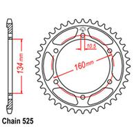 REAR SPROCKET - STEEL 43T 525P