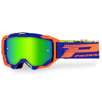 Progrip Vista 3303 Orange/Blue MX Goggles