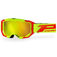 Progrip Vista 3303 Yellow/Red MX Goggles