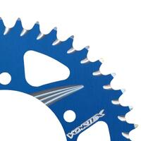 VORTEX ALLOY REAR SPROCKET 525-43T - BLUE