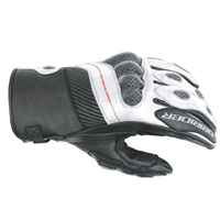 Dririder Speed 2 All Seasons Short Cuff Black/White Road Gloves