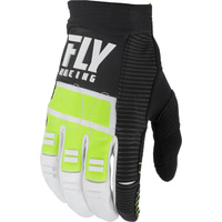 Fly Racing Evolution Hi-Vis/Black MX Gloves