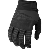 Fly Racing Kinetic Shield Black MX Gloves