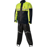 Nelson-Rigg Stormrider Rainsuit SR-6000 2 piece Black/Hi-Vis Yellow - Large