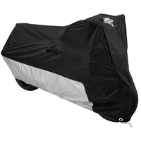 Nelson-Rigg  Bike Cover MC-90402-MD Deluxe Motorcycle Cover Black/Silver - XL