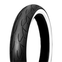 VEE RUBBER TYRE VRM302 WHITE WALL F MT90B16 72H TUBELESS