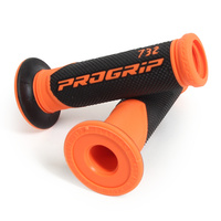 Progrip Fluro Orange Dual Density 732 Open End Grips