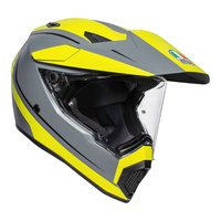 AGV AX9 - PACIFIC ROAD MULTI - MATT GREY/YELLOW FLURO/BLACK