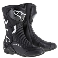 Alpinestars Stella SMX 6 V2 Black/White Ladies Performance Riding Road Boots