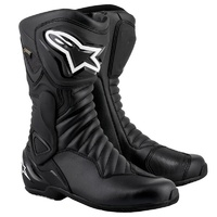 Alpinestars SMX 6 V2 Gore-Tex Black All Weather Performance Riding Road Boots