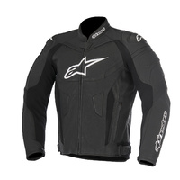 Alpinestars GP Plus R V2 Airflow Black/Anthracite Sports Riding Leather Road Jacket