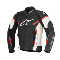 Alpinestars GP Plus R V2 Airflow Black/White/Red Sports Riding Leather Road Jacket