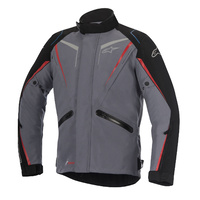 Alpinestars Yokohama Drystar Grey/Black All-Weather Riding Road Jacket
