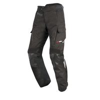 Alpinestars Andes V2 Drystar Black All-Weather Riding Road Pants