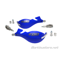 Barkbusters Ego Blue Handguards with Two Point Mount