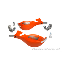 Barkbusters EGO Handguard Two Point Mount for Tapered Handlebars - Orange